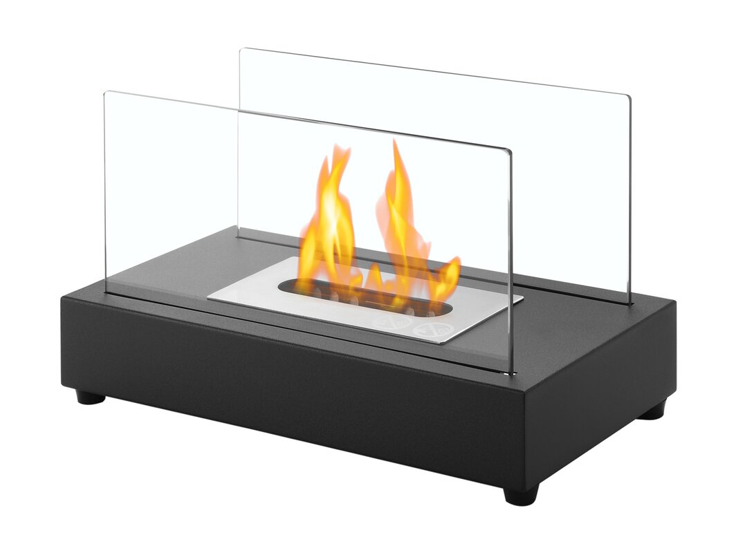 table top fireplace the tabletop fireplace hammacher schlemmer