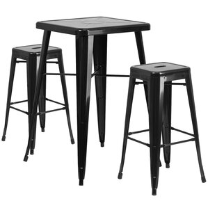 athens 3 piece bar table set