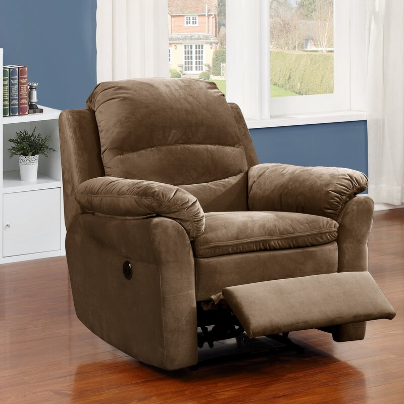 AC Pacific Felix Transitional Electric Power Recliner & Reviews ...