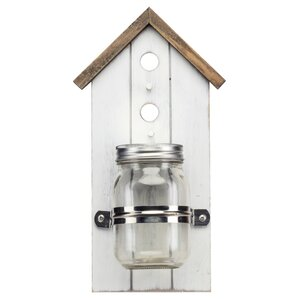 Tweet Retreat Birdhouse Wall Vase