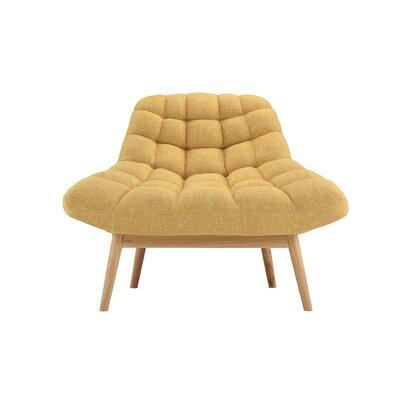 Trule Teen Benedict Lounge Chair Upholstery: Yellow