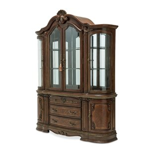 Bella Veneto Lighted China Cabinet
