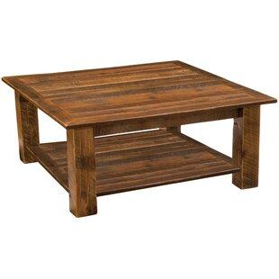 Genial Barnwood Open Coffee Table
