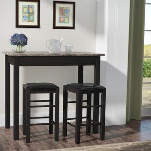 Pub tables bistro sets birch lane prosser 3 piece counter height dining set workwithnaturefo