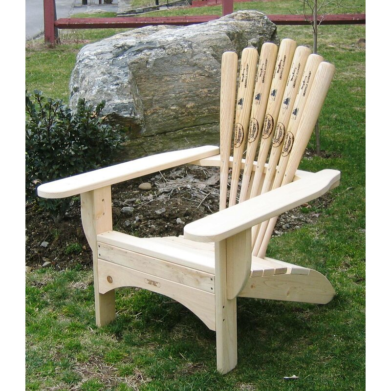 Solid Wood Adirondack Chair