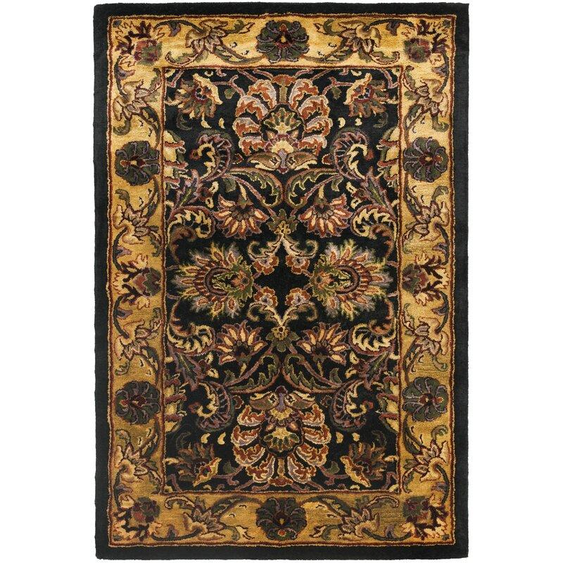 Safavieh Golden Jaipur Antiquity Black Gold Area Rug Wayfair
