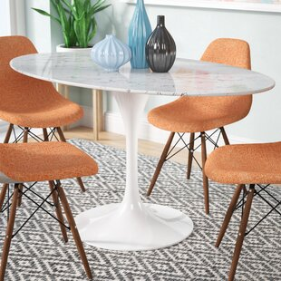 Julien Oval Artificial Marble Dining Table