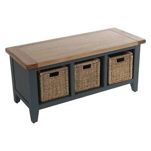 Sitzbank Oakham Expressions aus Holz mit Stauraum von Hazelwood Home
