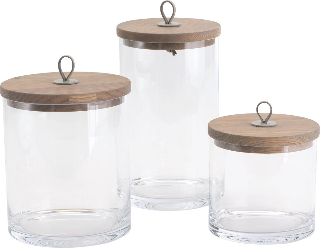 laurel foundry modern farmhouse rustic kitchen canister reviews default name