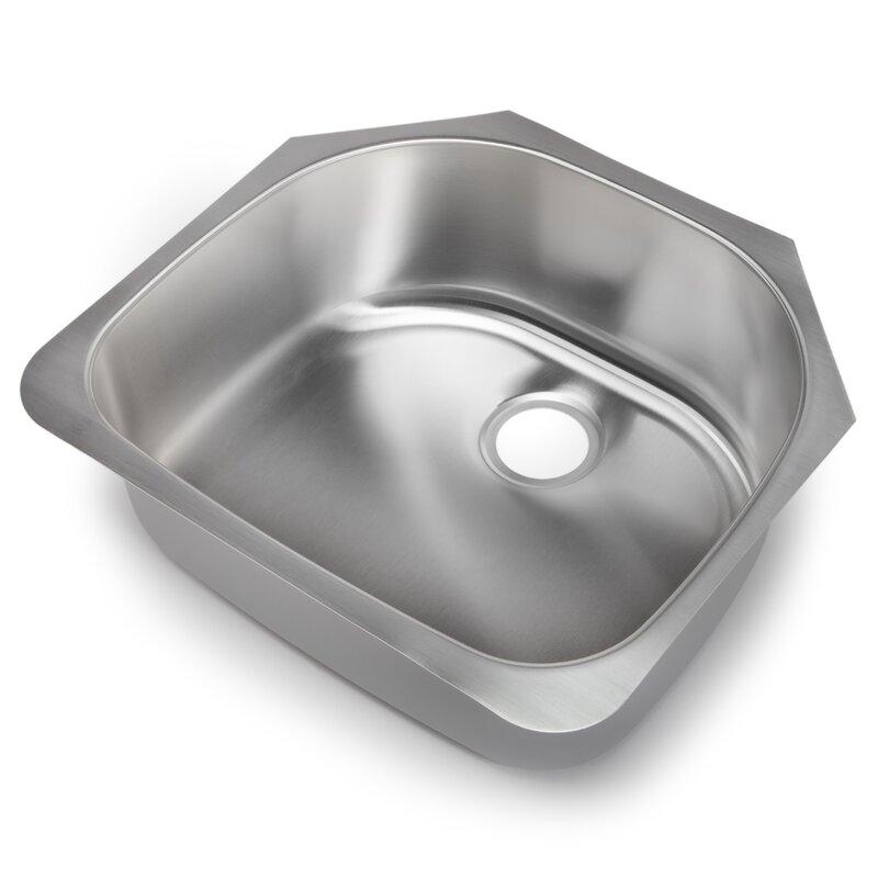 classic chef 23 38   x 21   single bowl undermount kitchen sink hahn classic chef 23 38   x 21   single bowl undermount kitchen sink      rh   wayfair com