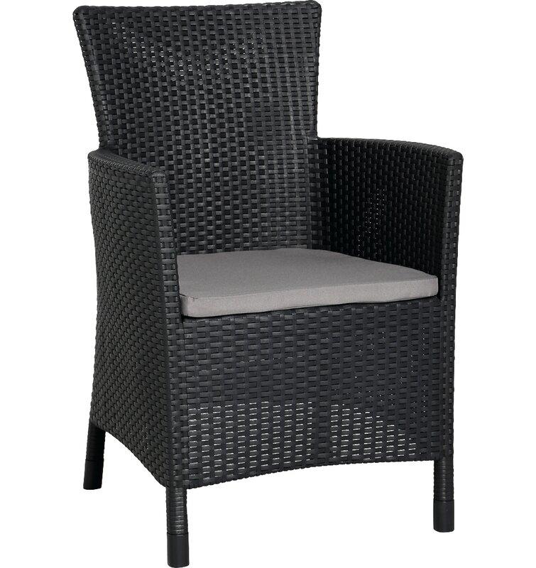 2 Sitzer Lounge Set Napoli Aus Polyrattan Mit Polster