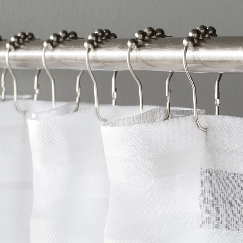 Wayfair Basics™ Wayfair Basics Shower Curtain Hooks & Reviews | Wayfair
