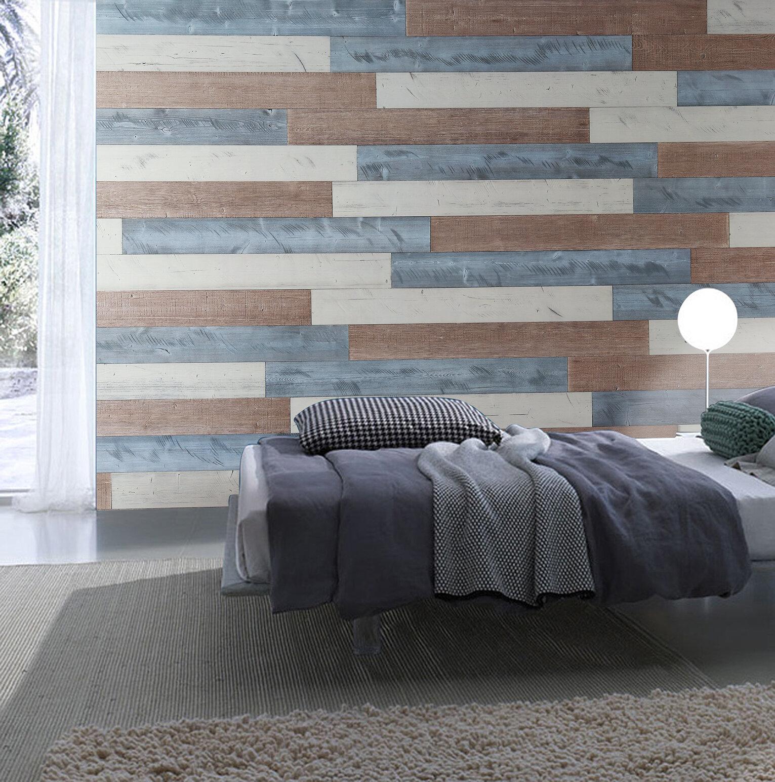 Woodywalls Peel And Stick Wood Wall Panels Diy (195 Sq