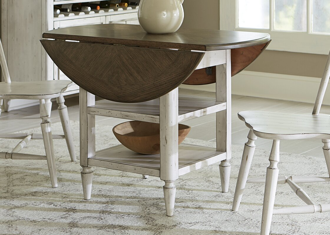 Baleine 3 Piece Extendable Dining Table Set