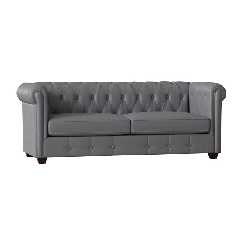 Hawthorn Leather Chesterfield Sofa