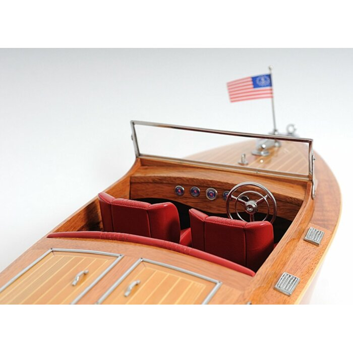 Faith Chris Craft Runabout with Display Case