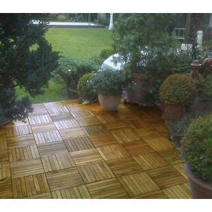 Plantation Acacia 11 X Interlocking Deck Tiles