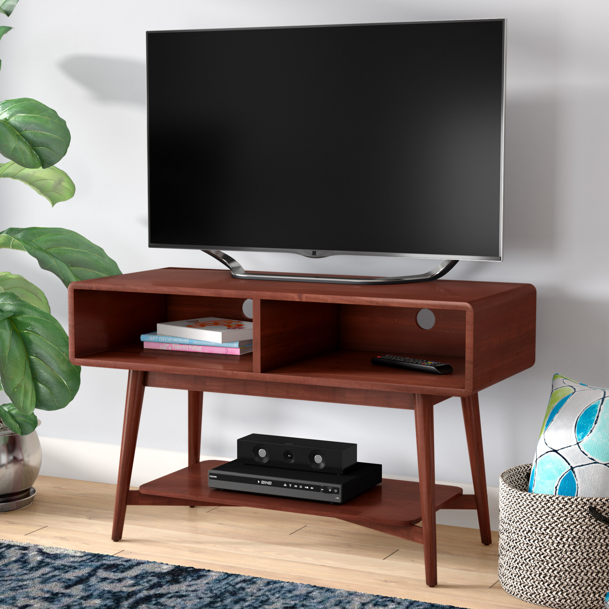 Zipcode Design Ali Mid Century Tv Stand For Tvs Up To 42 Reviews