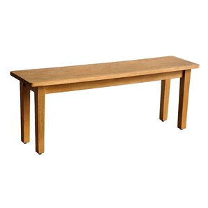 Suffolk Wood Bench by Casual Elements