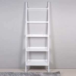5 Tier Leaning Bookcase