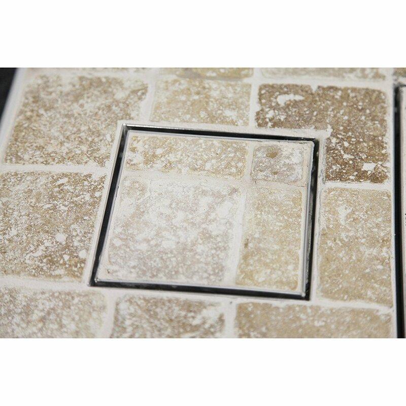 Boann Tile Insert Square 2 Grid Shower Drain Wayfair