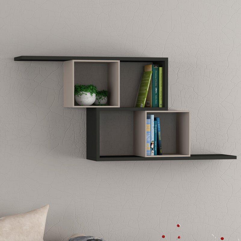 clearambient schweberegal cube. Black Bedroom Furniture Sets. Home Design Ideas