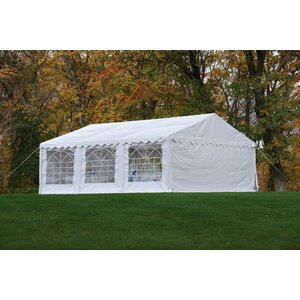 20 Ft. W x 20 Ft. D Steel Party Tent