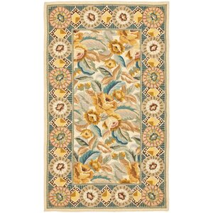 Isabella Yellow / Ivory Area Rug