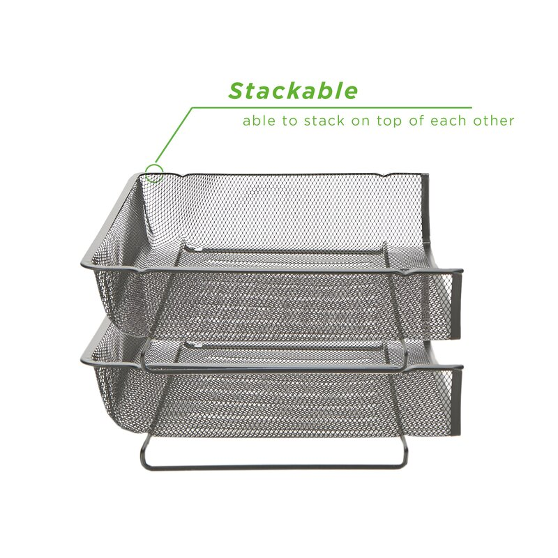 Business, Office & Industrial Black Price Remains Stable Office Equipment Objective Mesh Wall Literature Holder Magazine Hanging File Office Organizer Silver