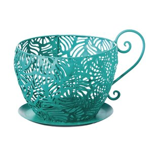 Giant Tea Cup Planter Wayfair