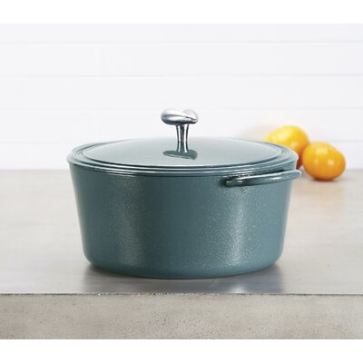 6 Qt. Enamel Covered Cast Iron Round Dutch Oven Ayesha Curry
