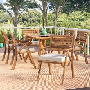 269b23ef4818 Coyne 7 Piece Dining Set with Cushions