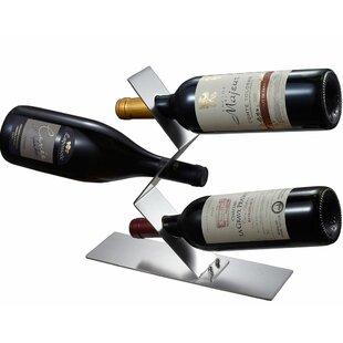 Chablis 3 Bottle Tabletop Wine Rack