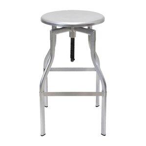 ryerson adjustable height swivel bar stool