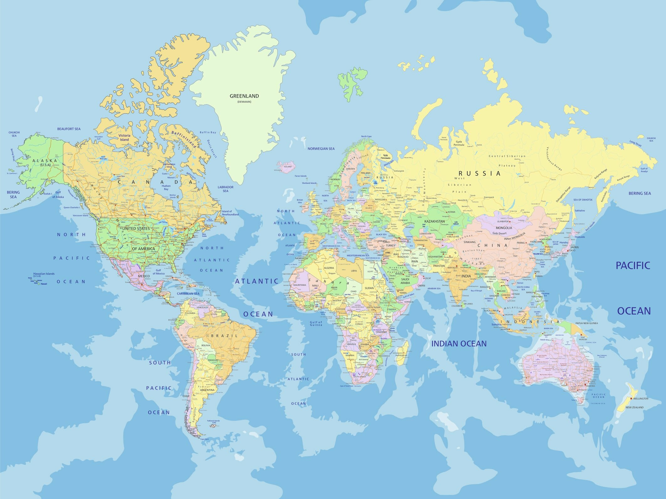 Old World Map Wallpaper | Wayfair
