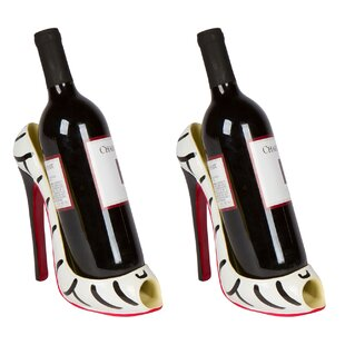Cabe High Heel Holder 1 Bottle Tabletop Wine Rack