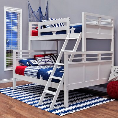 Quinn Twin Over Full Bunk Bed Epoch Design Color: White