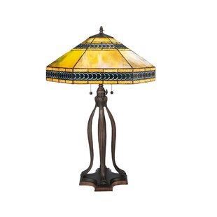 Meyda tiffany table lamps youll love wayfair cambridge 31 table lamp by meyda tiffany aloadofball Gallery