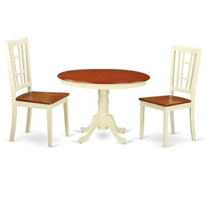 Hartland 3 Piece Dining Set by East West Furniture