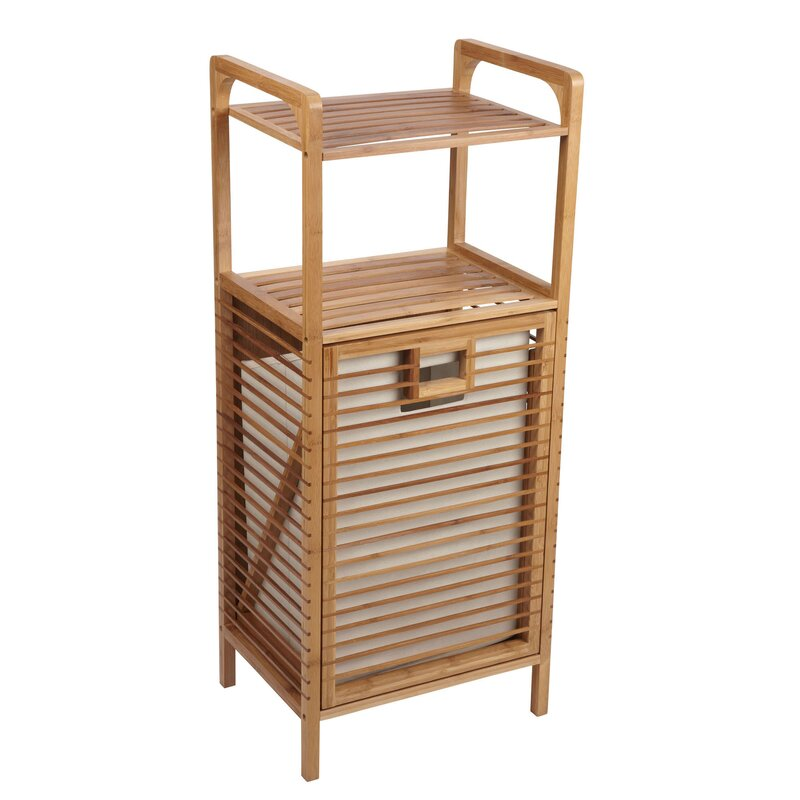 Household Essentials Tilt-out Cabinet Laundry Hamper & Reviews ...