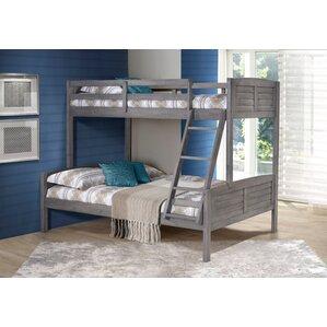 Evan Twin over Full Bunk Bed by Harriet Bee