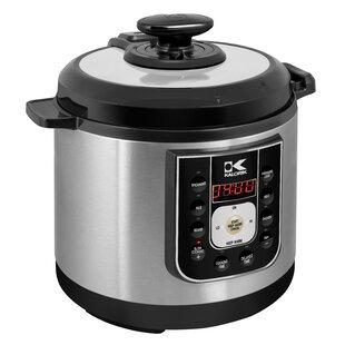 20a0a382da9 Kalorik 6.25 Qt. Stainless Steel Perfect Sear Pressure Cooker