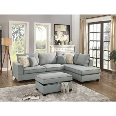 Reversible Chaise Sofa Wayfair