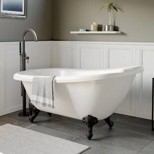 Lightweight Acrylic Bathtub Wayfair