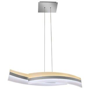 Rohrbach 2-Light LED Pendant  sc 1 st  AllModern & Modern 2 Light Kitchen Island Pendants | AllModern