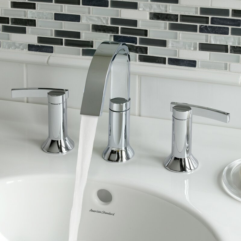 Exceptional 2 Handle High Arc Widespread Bathroom Faucet With Speed Connect Drain