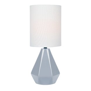 glass cylinder lamp white glass quickview modern contemporary table lamps allmodern