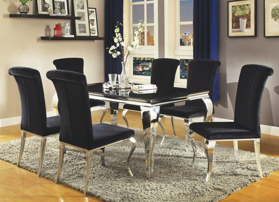 Glass Kitchen Dining Tables Youll Love Wayfair