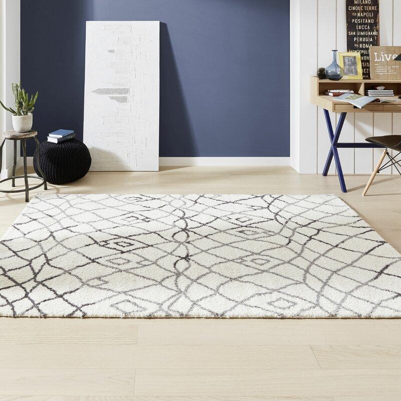 Terren Teppich Aussenbereich | Hokku Designs Teppich Rivoli In Beige Grau Wayfair De