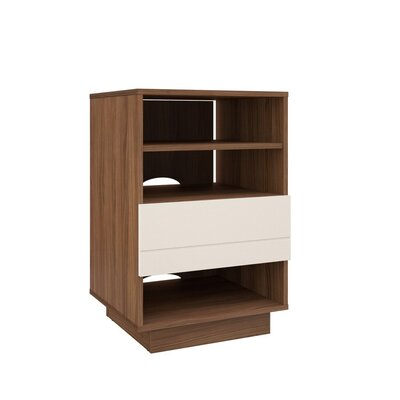 Orren Ellis Aubriana Wood Audio Cabinet